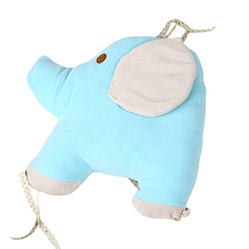 Baby Elephant Cushion Cotton Newborn Soft Plush Stuffed Animal Fleece Toys by ACESTAR