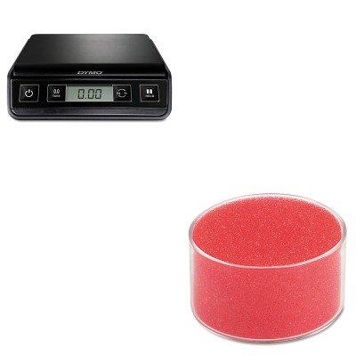 KITPEL1772055UNV56503 - Value Kit - Universal Sponge Cup Moistener (UNV56503) and Dymo M3 Digital Postal Scale (PEL1772055)