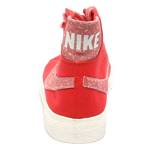 Sneaker Nike Blazer Donna B1371 Rosso Shoe Woman Tessuto 7qwgn