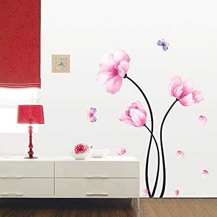 Amazon.com : Perfect Flower Stem Wall Decal : Nursery Wall Decor : Baby Great Pictures
