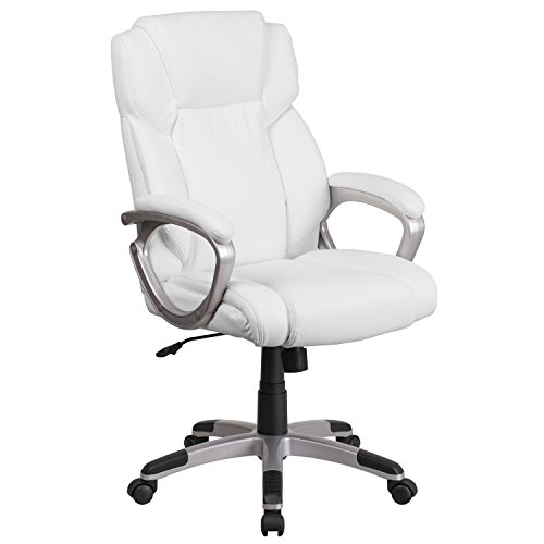Executive Mid Back Leather Swivel - 3