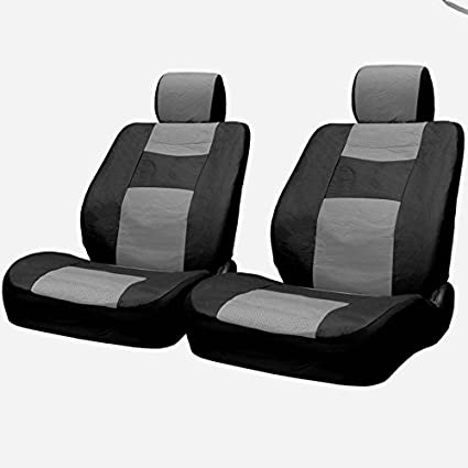 50 50 Split Feature Back Seats Yupbizauto New Black Color Premium Grade Deluxe Universal Size Breathable Synthetic Leather Car Truck SUV Seat Covers Set Support 40 60