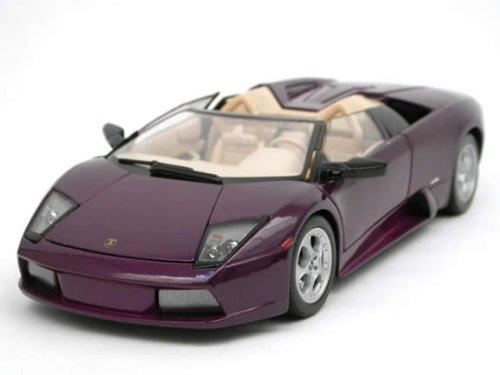 Lamborghini Murcielago Roadster Purple 1:18 Diecast Model ()