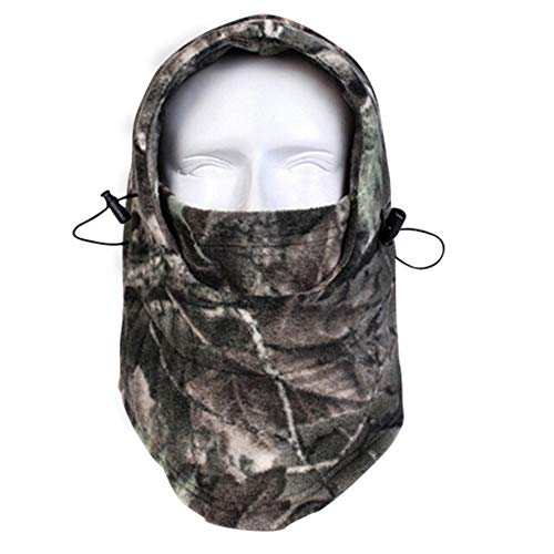 Your Choice Balaclava Face Mask Thick Thermal Fleece Hunting Face Mask, Windproof Camo Neck Warmer for Cold Weather Outdoor Activities Gear