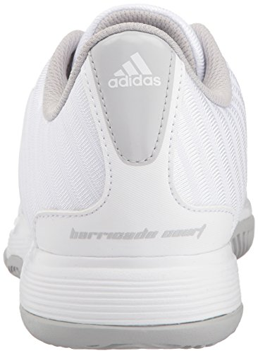 Scarpe Da Tennis Corte Adidas Originali Da Uomo, Bianche / Argento Opaco / Grigio