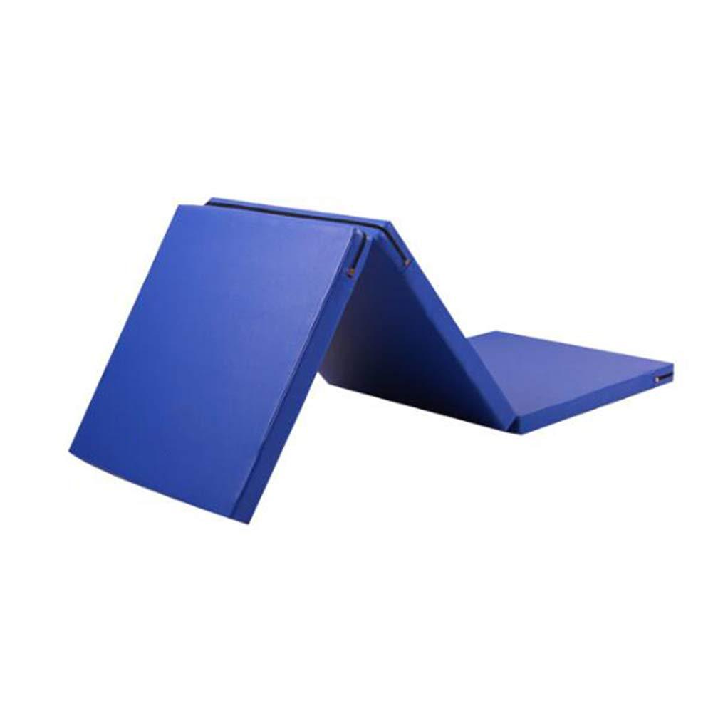 驚きの価格が実現! ZJ 体操マット5センチ厚折りたたみPUパネルジムフィットネスエクササイズパッド (色、屋内ジムエクササイズマットヨガタンブリングマット (色 サイズ : 青, サイズ 青, さいず : 80×240×5cm) B07MP55QMW 青 60×180×5CM 60×180×5CM|青, BrownFloor clothing:b387f38e --- efichas.com.br