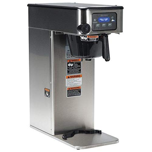 Bunn 53100.0100 BrewWISE ICB-DV Infusion Stainless Steel Single Automatic Coffee Brewer Dual Voltage