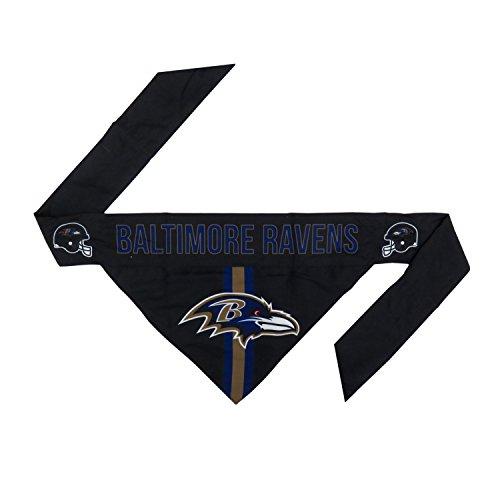 NFL Baltimore Ravens Pet Bandanna, Medium (Nfl Baltimore Ravens Jersey)