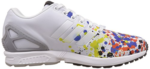 Homme Adidas Zx White Ftwr Flux ftwr Chaussures Solid Blanc mgh Grey White wfawqxrS