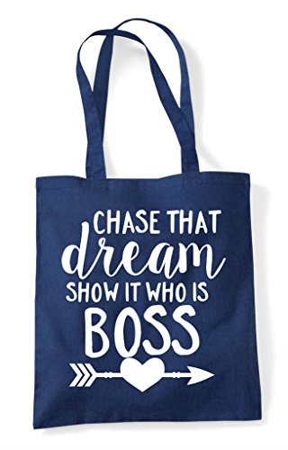 Tote Statement Bag It Shopper That Boss Navy Who Is Dream Show Chase AaqwU6x