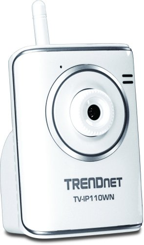 - TRENDnet Wireless Internet Surveillance Camera, TV-IP110WN