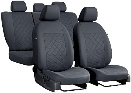 EJP Autositzbezüge maßgefertigt für Grandland X ab 2017.Individuell gefertigt.Stoffart Draft Line.Farbe Grau.