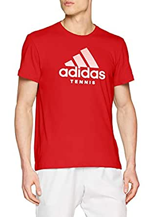 adidas Men's Category T-Shirt, Scarlet, S