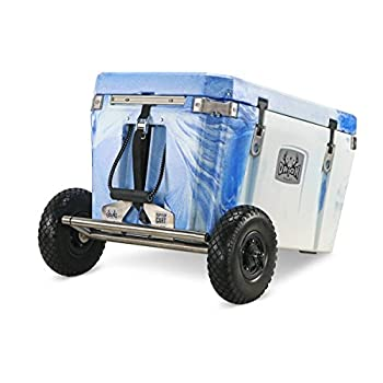 Image of Cooler Accessories Orion Flip-Flop Cart Cooler Accessory - Removable Wheel/Axle Kit for Heavy Duty Camping Cooler – Accommodates Coolers (35, 55, 65, and 85)