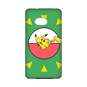 Personalized Custom Anime Pokemon Series Ideas 3D Printed for HTC ONE M7 Phone Case Cover--WSM-050601-058