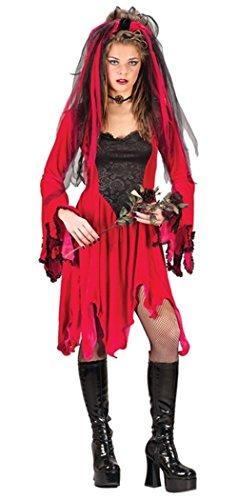 Adult Devil Bride Costume - Small/Medium
