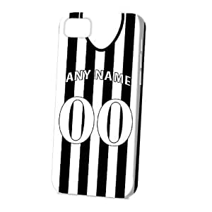 TYHde Case Fun Apple iPhone 6 4.7 Case - Vogue Version - 3D Full Wrap - Personalised Newcastle United Football Shirt, Any Name, Any Number ending