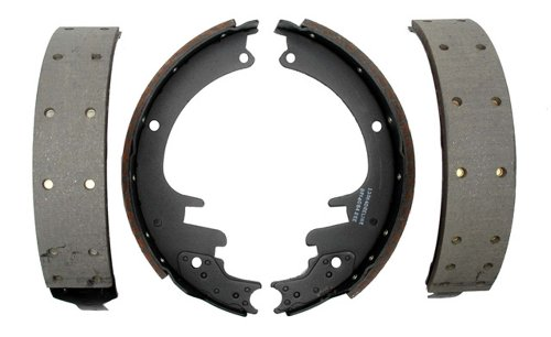ACDelco 17451R Professional Riveted Rear Drum Brake Shoe Set