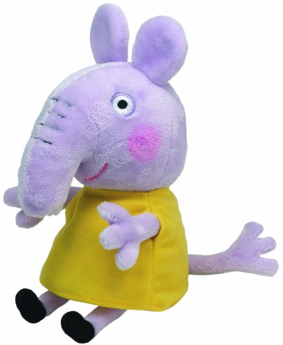 TY Beanie Baby - EMILY ELEPHANT (UK Exclusive - Peppa Pig)