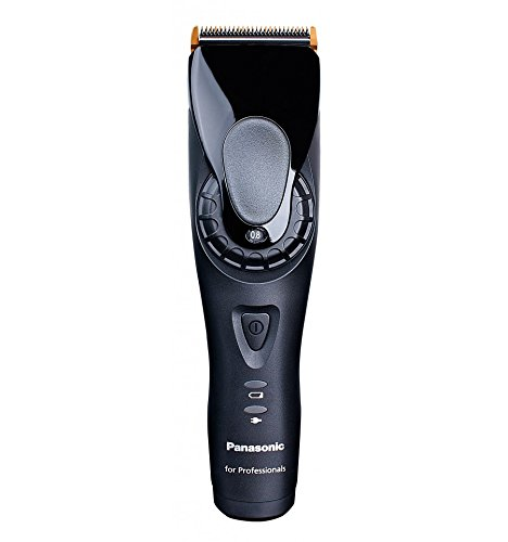 Panasonic ER-GP80 Rechargeable Professional Hair Clipper With 3 Combs in Stand and Charging Stand (MADE IN JAPAN) by Panasonic