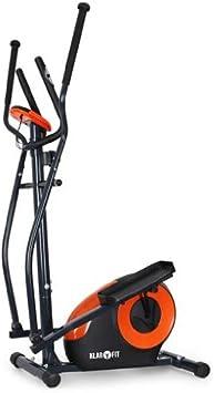 Klarfit - Bicicleta Elíptica Ellifit Fx 250 con Ordenador de a Bordo y Pulsómetro - Para Crosstrainer con Un Peso Máximo Soportado de 110Kg., Negro: Amazon.es: Deportes y aire libre