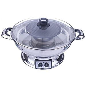 Shabu Shabu Hot Pot with BBQ Grill