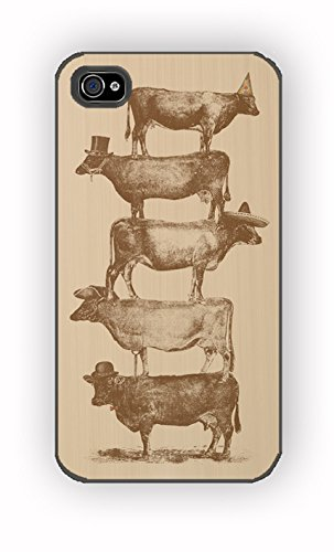Cow Cow Nuts for iPhone 4/4S Case