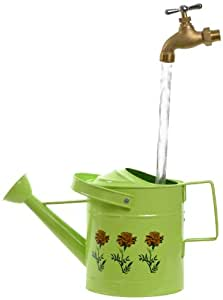 Universal Home and Garden SPL-11 Small Watering Can Fountain, Lime
