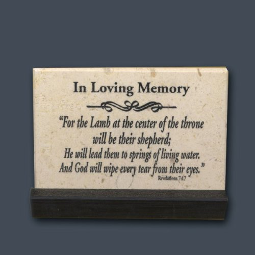 In Loving Memory by Holy Land Stone Company