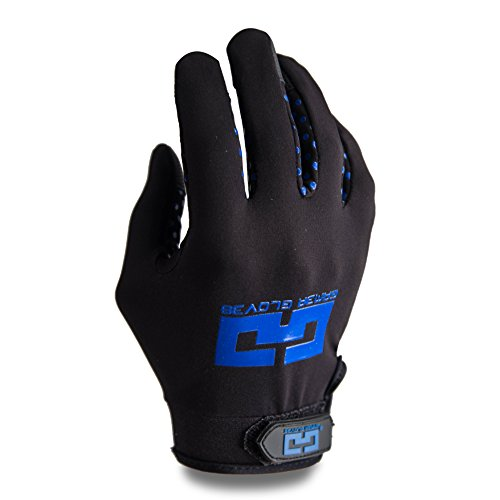 Gamer Gloves EPG (Elite Performance Generation) The First Glove Made for Gamers, by Gamers. Improving Grip and Eliminating Sweat. (Large, Blue)