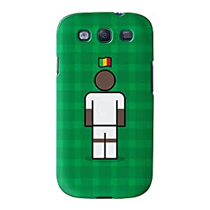 Mali Full Wrap High Quality 3D Printed Case for Samsung? Galaxy S3 by Blunt Football International + FREE Crystal Clear Screen Protector