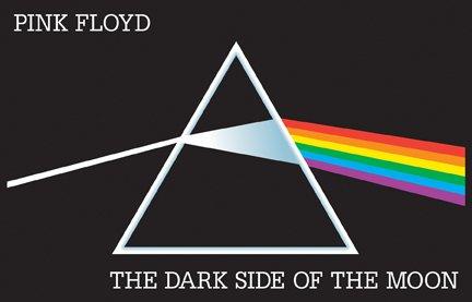 Pink Floyd Dark Side of the Moon Blacklight Music Poster Print
