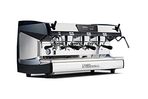 Nuova Simonelli Aurelia II T3 3 Group Espresso Machine MAUMBIISEM03CW0006 with Free Espresso Starter Kit and 3M Water Filter System