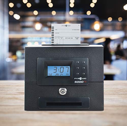Pyramid 5000HD Heavy Duty Steel Auto Totaling Time Clock - Made in the USA by Pyramid Time Systems (Image #4)