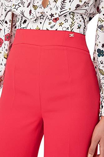 Elisabetta Para Mujer Franchi Liso Pantalón r6wrqB