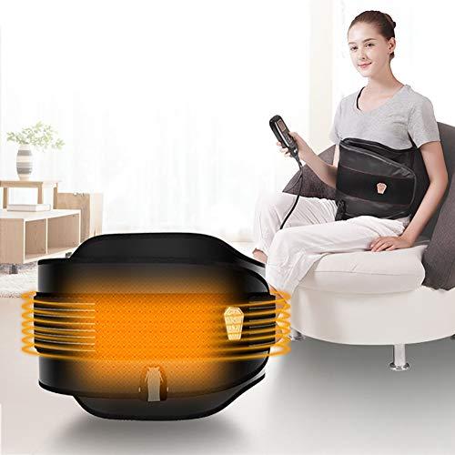 ZFAZF Sauna Slimming Belt Vibration Massage Belt with 4 Motors Moxibustion Hot Compress Warming Uterus Temperature Adjustable for Home and Beauty Salon (Beauty Equipment Slimming)