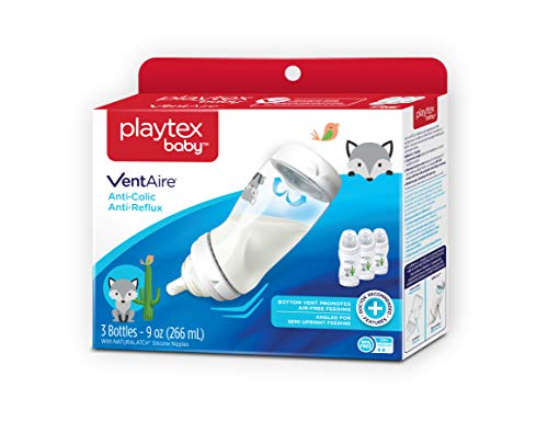 Playtex Baby Ventaire Decorated Anti-Colic Anti-Reflux Bottl