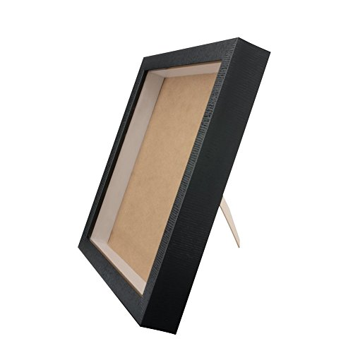 Orangehome 12 x 12 Shadow Box Frame Picture Frame Wall Display Case Pin Medal Display Case(Black, 12 x 12 Inch) by Orangehome