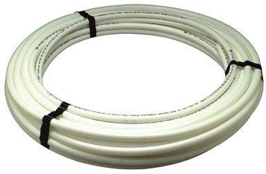 White Tubing Pex (Zurn Pex QB3PC50X 1/2-Inch by 50-Foot Zurn Pex Non Barrier Straight Tubing, White)