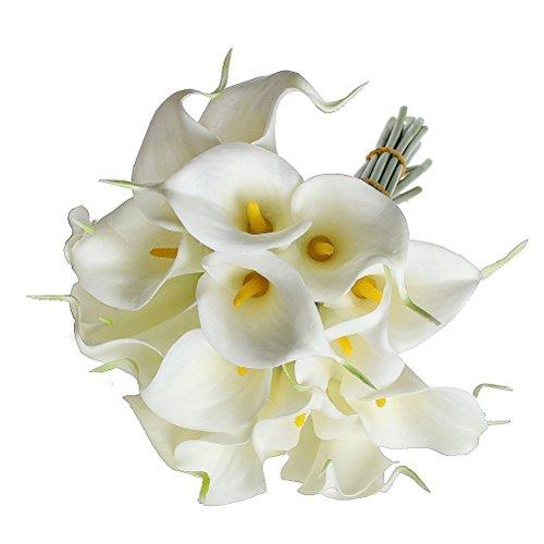 ULTNICE Kunstblume Deko Calla Zimmercalla Kunstblume Künstliche Blumen Kunstpflanze