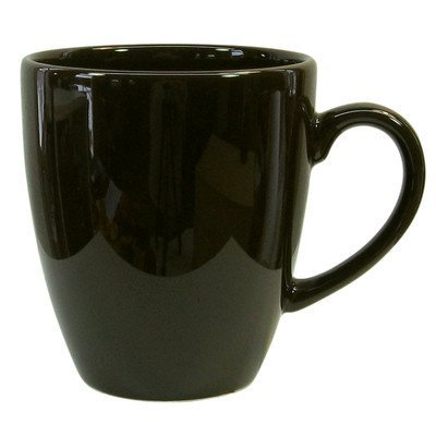 Fun Factory 16 oz. Jumbo Cafe Latte Cup (Set of 4) Color: Black (Waechtersbach Ceramic Mug)