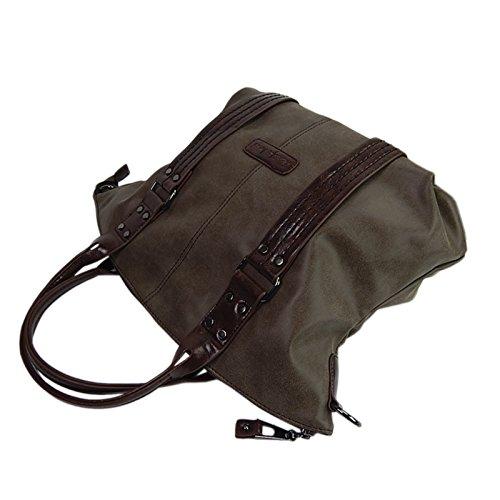 3427 Braun Braun SchultertascheTragetasche Handtasche Umhängetasche Umhängetasche Handtasche SchultertascheTragetasche 3427 tHUqHw4