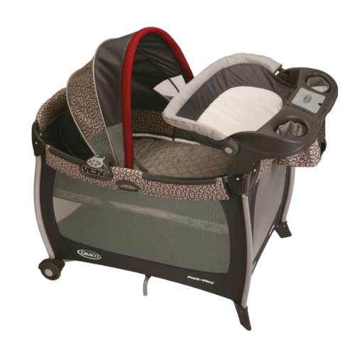 Amazon Graco Pack N Play Silhouette Playard With Bassinet And