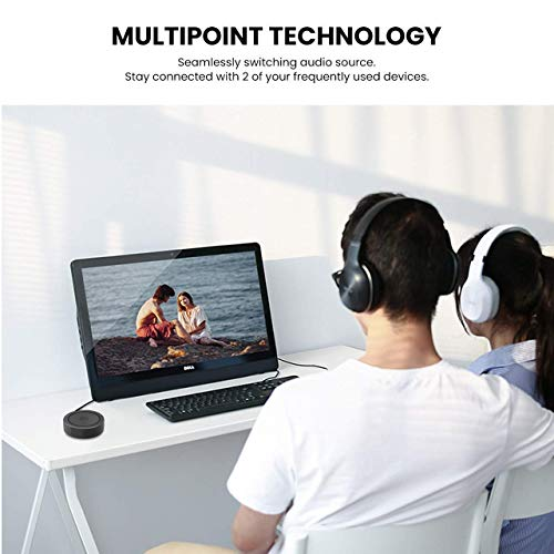 Bluetooth Transmitter and Receiver, 2-in-1aptX Low Latency 3.5mm Bluetooth 4.1 Wireless Stereo Audio Adapter for Home TV, PC, Headphones, Speaker, Car by ACSUN (Image #1)