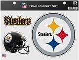 "Rico NFL Steelers Team Magnet Sheet, 9"" x 5"" x 0.2"", Team Logo"