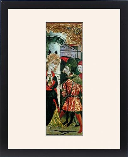 Framed Print of PERIS SARRIA, Gonzal (end 14th century-15th century)