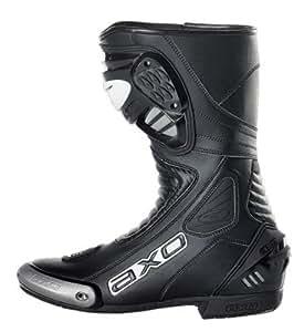 AXO Primato II Motorcycle Boots (Black, Size 12)