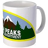 CafePress - Twin Peaks Sheriff Department Mug - Unique Coffee Mug, Coffee Cup