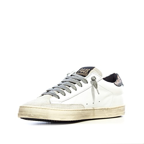 P448 Para Blanco De Zapatos Mujer Cordones Colore Piel qpqHwIr