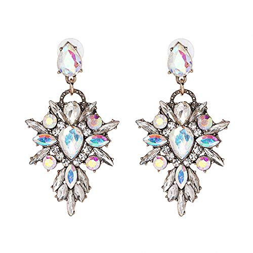 5 Colors Earring Crystal Multicolor Special Bohemia Big Earrings Women Party Jewelry Ab Color